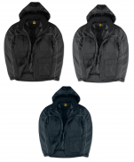 Windproof, water repellent and waterproof unisex jacket with hood