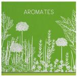 Hand towel 50x50 cm Aromatics 100% cotton jacquard