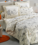 Duvet cover + pillowcases cats and mice 100% cotton