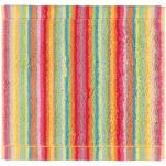 Carré 30x30 cm 100% coton éponge lignés multicolores double face