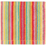Face Cloth 30x30 cm 100% cotton terry multicolored lines double sided