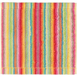 Seiftuch 30x30 Cm 100 Baumwolle Frottier Mehrfarbige Linien Doppelsei