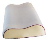 Oreiller ergonomique 36x60 moussse viscoélastique couche gel soutien anatomique