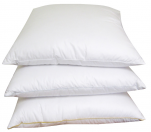 Pillow 60x60 cm Duvet and goose feathers 3 bedrooms, 100% cotton twill mako