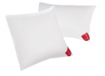 White down pillow and goose feathers, 2 comforts (soft and firm) in 1 pillow