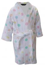 Peignoir enfant 100% coton éponge, Mickey Minnie Ballons Disney lavable 60°C