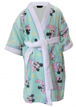 Children's bathrobe 100% cotton terry Mickey Minnie alphabet Disney Washable 60