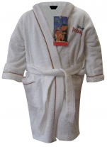 Children's bathrobe 100% cotton terry Pocahontas Disney Washable 60°C