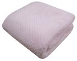 Children's blanket 75x100 cm pink cloud 50% microfiber 30% acrylic 20% polyester