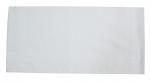 Mouchoirs homme blanc 100% coton egyptien 45x45 cm : 1 paquet de 6 mouchoirs