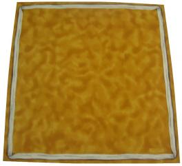 50X50cm napkin 100% cotton satin gold  Pierre Frey