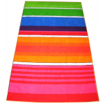 Beach towel 100x180 cm terry velor 100% cotton