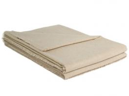 Lightweight blanket 240x265 cm 100% Yangir 70 gr/m² gray/champagne natural