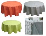 Tischdecke 100% Polyester Jacquard färbt geometrische Formen waschbar 60°C