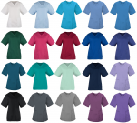 Lady tunic 65% polyester 35% cotton 2 pockets side vents 145 gr/m²
