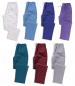 Mixed trousers 65%polyester/35%cotton elasticated drawstring 2 pockets 195 g/m²