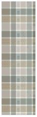Table runner 55x180 cm 100% cotton gray/beige patchwork