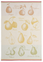 Towels for dishes pears 100% cotton jacquard 50x75 cm