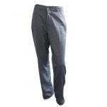 Pantalon cuisine diolen pied-de-poule blanc/bleu Tailles 36 à 60