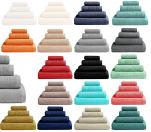 Bath sheet 90x170 cm 100% combed cotton 530 gr/m²