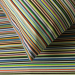 Quilt cover and pillowcase 60x70 100% cotton percaline multicolored lines