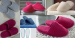 Terry slippers  95% terry cotton and 5% polyester 350 gr/m² non-skid