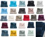 Face cloth 30x30 cm plain royal 100% combed terry cotton 540 gr/m²