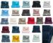 Hand towel 50x100 cm plain royal 100% combed terry cotton 540 gr/m²
