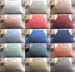 Duvet cover + pillowcase 100% cotton percale combed easy care, 200 TC