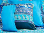 Decorative Cushion cover Montefano B1 blue moon 40X40 cm Bassetti