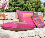 Decorative Cushion cover Oblivia R1 rosso 40X40 cm Bassetti