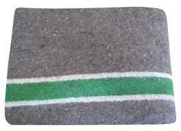 Extra Moving blanket 150X250 cm, 3F, scraped 2 sides, 500gr/m²