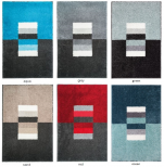 Bathmat rectangles colors 100% acrylic and non-skid