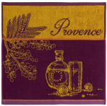 Hand towel 50x50 cm Provence 100% cotton jacquard