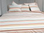Duvet cover + pillowcase 65x65 cm multi lined 100% cotton