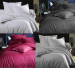 Duvet cover + pillowcase Lines 100% combed jacquard cotton satin easy care