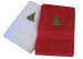 Guest towel 40x70 cm 100% combed terry cotton Christmas tree embroider