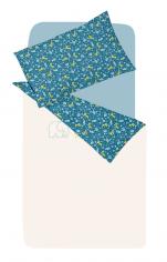 Duvet cover 100x140 cm + 1 pillowcase 40x60 cm 100% cotton savannah animals