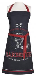 Bib apron 85x76 cm Barbecue 100% printed cotton