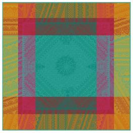 Napkin 53x53 cm Colors Indian decoration 100% cotton jacquard
