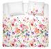 Duvet cover + pillowcase 60x70 watercolors 100% percaline cotton