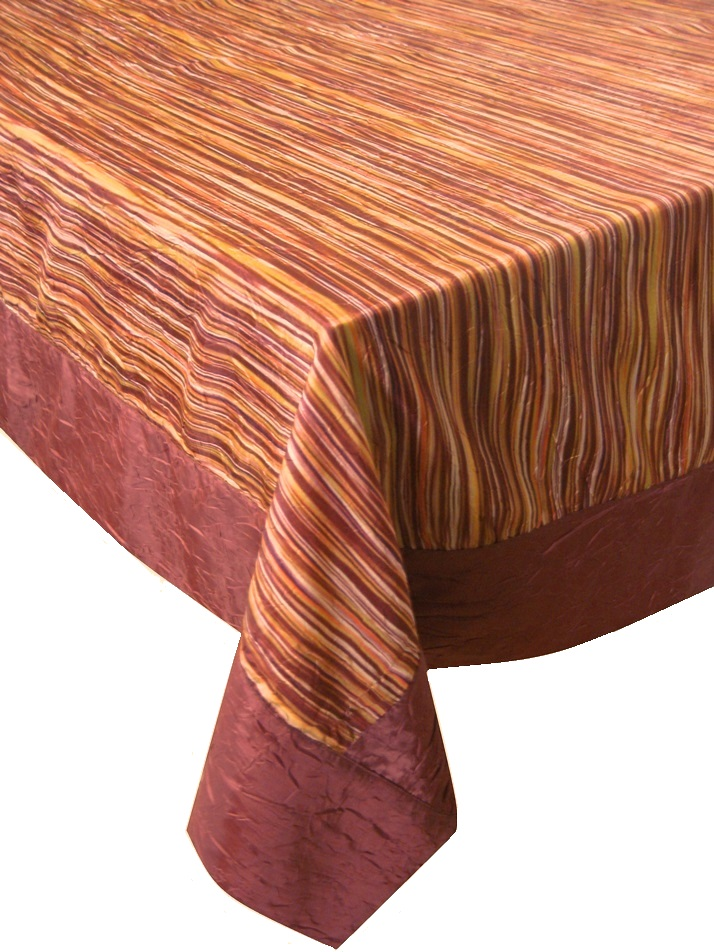 Rustique baies 100/% polyester nappe//correspondant à serviettes