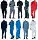 Overall 60% cotton / 40% polyester zipper + press studs, pockets