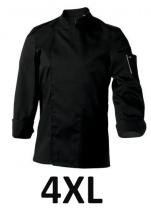 Jacket Mixed kitchen black NER. long sleeves polycotton  T7/4XL/66-68