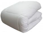 Couette/Edredon 4 saisons, enveloppe 100% coton, 200+350- 550gr/m², pressions
