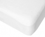 Mattress protector height 40cm 100% terry cotton, polyurethane breathable