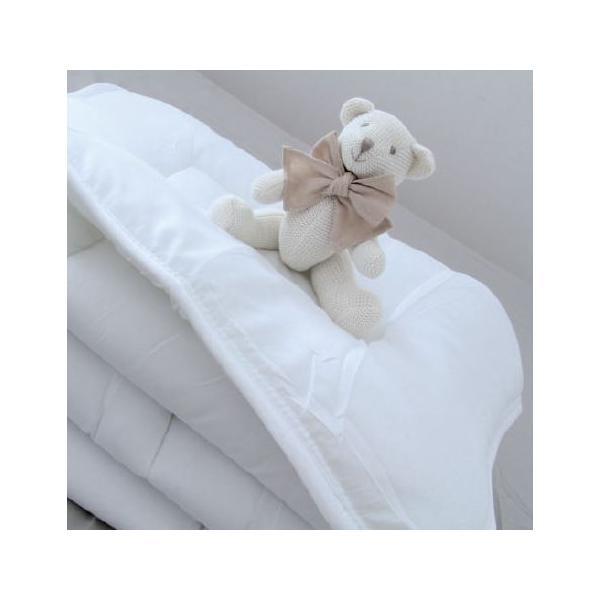couette blanche 100x140 cm enveloppe microfibre. Black Bedroom Furniture Sets. Home Design Ideas
