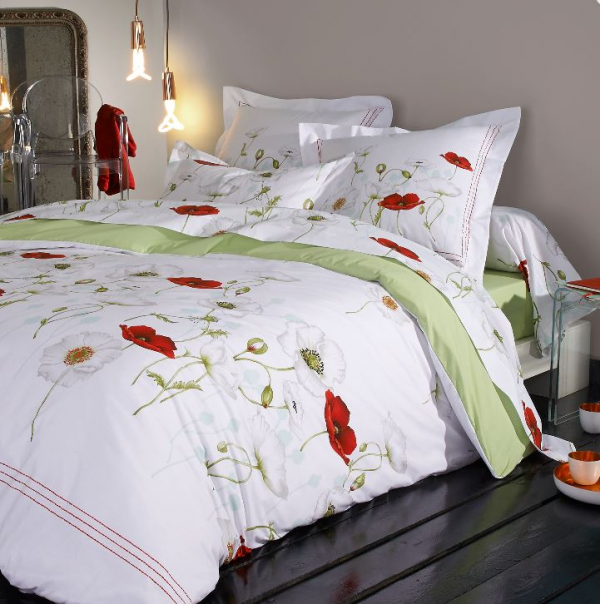 bettbezug und kissenbezug 100 gek mmte baumwolle. Black Bedroom Furniture Sets. Home Design Ideas