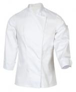 Veste de cuisine blanc Mani polycoton 65/35 modèle spéciale Dame