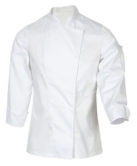 White kitchen jacket Mani polycotton 65/35 special model for woman